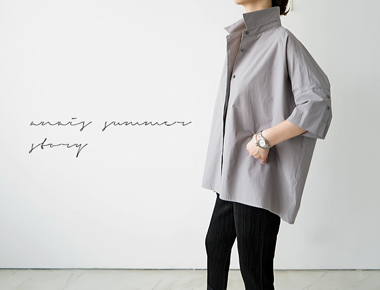 [The day of shipment; deumil Shirt - gray door Breadth weeks 31 weeks during the season in stock cars reorder M, L size selectable