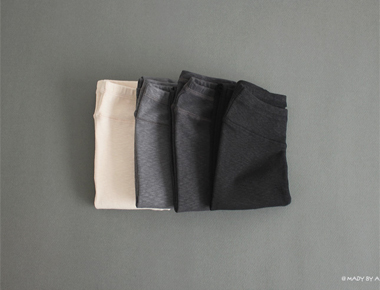 [Shipped the same day] and the mouth texture Herd Leggings Leggings Chic re seulreop