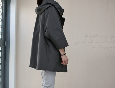 Mani Hood field jacket - meoksaek main door Breadth main season restocking
