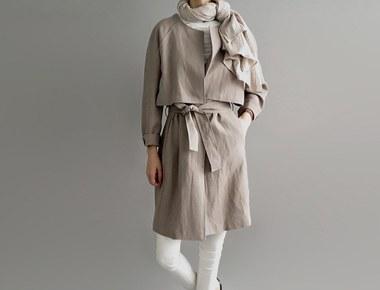 [Shipped the same day] Hampton linen coat (Beige) Order Thank runaway S, M selectable season restocking