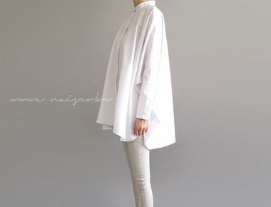 MM a-line blouse Park Sihoo fully and completely reproduced without sparing stylish fabrics -
