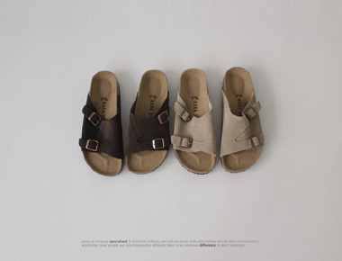 Beoken Real Leather Sandals - real cow leather man Couple Good to Size) 255 1500 won sizes Add