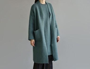 Boti Cheltenham Good for Color angora cardigan coat Long nice substitute uncommon