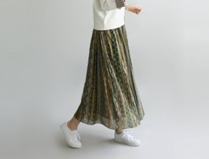[Shipped the same day] Loja Pleats skirt fabric skirt fluttering sensation yocheok spared because I am nice enough - Compared to good price