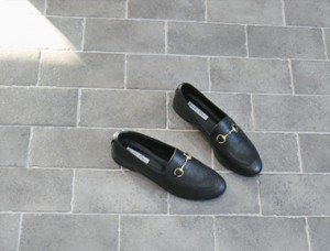 Gu. Real leather loafer to size really came out well ^^