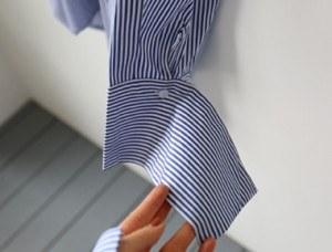 [Shipped the same day] Cane Stripe Shirt