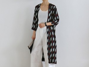 [Same-Day Shipping] Rudy Robe Cardigan Even in casual wear ~ Swimsuit ~ ~ fashionably from mid-summer ~