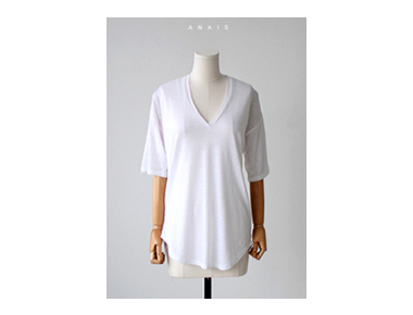 Natural Linen Tee Fully cool and unobtrusive ~ Stylish and slim fits