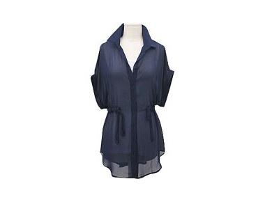 Dublin shiffon shirts Please use as jacket ~ chic style
