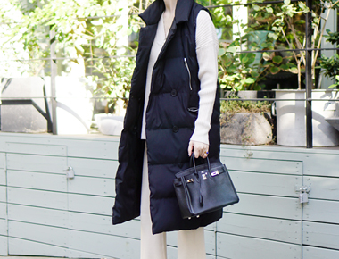 double Padding Long Best Semi ~ casual ~ sophisticated and very warm ^ ^ I like to lightly walk,