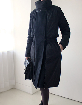 Marc Reversible Duck Down Padding Long Coat Can be worn on both sides. It is completely practical ~ Quality.