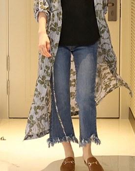 Alben Fringe Jeans
