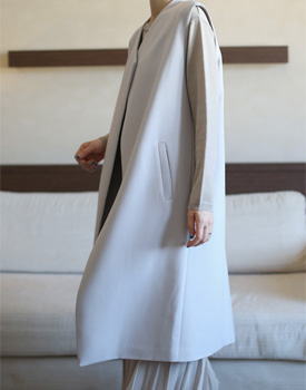[Shipped the same day] jilsen long vest - 3c price non-caustic very good ~~