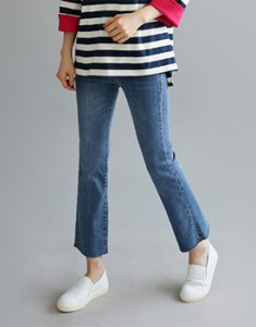 [Shipped the same day] lane stretch jean cut to size completely good ~ Tight week / door / Breadth / week