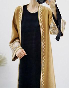 Berto knit coat