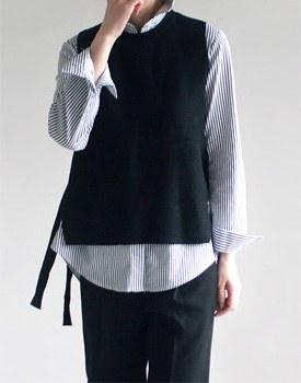 Wells Knit Vest - 3c