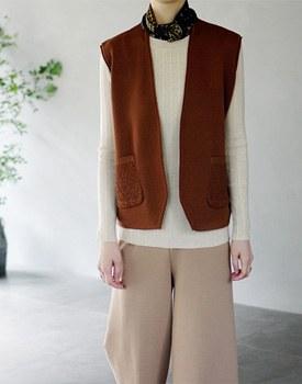 Brunel Knit Vest - 2c Chic and Chic