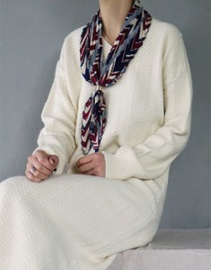 Hani Scarf With color sense, it's beautiful.
